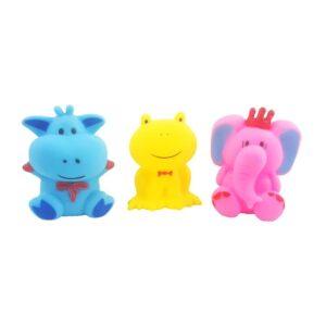 ست پوپت حیوانات 3 عددی Parham Toys