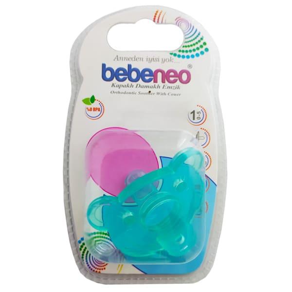 پستانک سرگرد طرح خرس تمام سيليكوني رنگي سايز 1 Bebeneo
