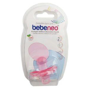 پستانک ببنئو مدل 762 ارتودنسی نوزادی تمام سیلیکونی سایز 2 Bebeneo