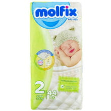 پوشک مولفیکس نوزادی سایز 2 Molfix