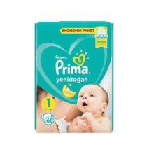 پوشک ۶۸ عددی سایز ۱ پریما Prima