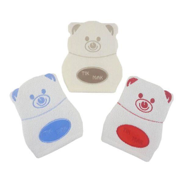 لیف دوخت رنگی خرس