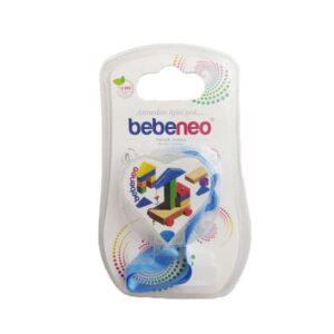 بند پستانک پارچه ای قلب طرحدار Bebeneo