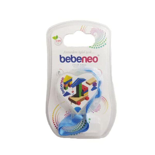 بند پستانک قلب Bebeneo