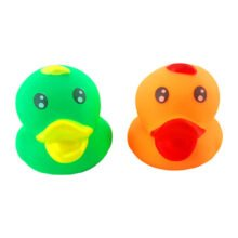 ست پوپت اردک 6 عددی رنگارنگ