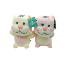 عروسک ببر لپ صورتی Duoai Toys
