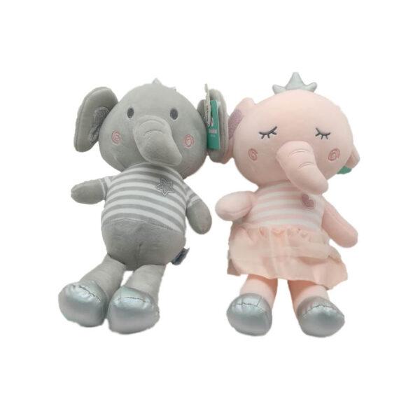 عروسک فیل تاجدار