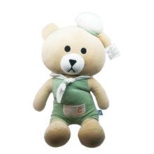 عروسک خرس ملوان کلاه دار
