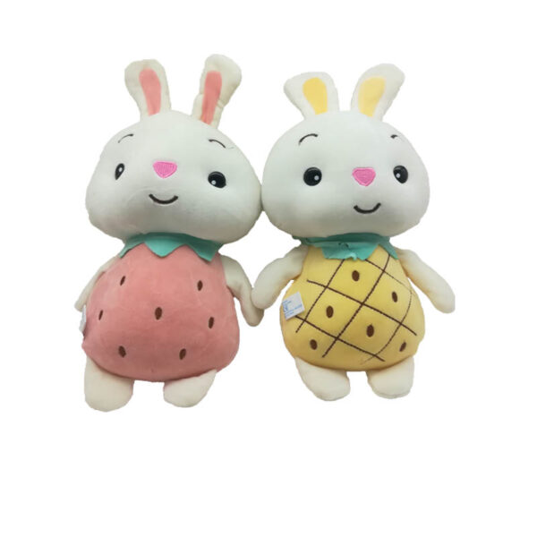 عروسک خرگوش توت فرنگی