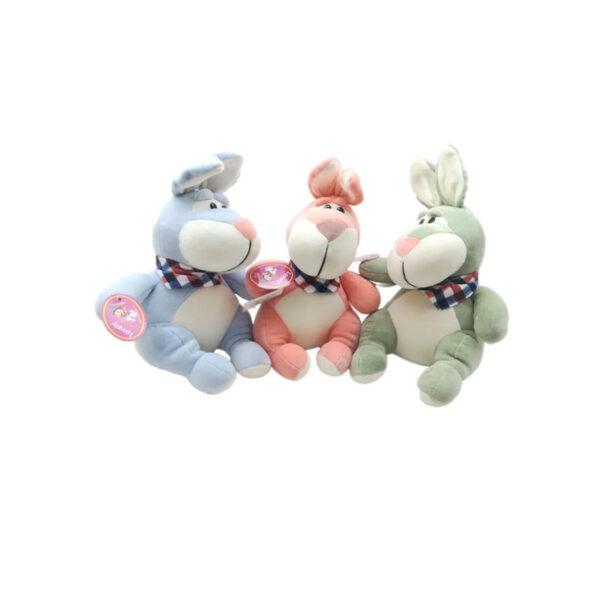 عروسک خرگوش شال دار