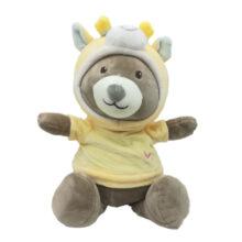 عروسک پولیشی خرس لباس دار