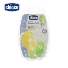 پستانک بچه چیکو chicco مدل: فیزیو کامپکت سیلیکان