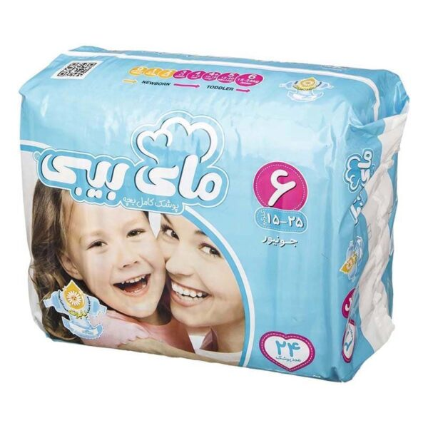 ملزومات بهداشتی کودک و نوزاد  مای بیبی سایز 6