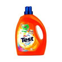 مایع لباسشویی 3 لیتری لباس های رنگی Test