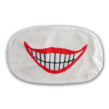 ماسک تنفسی 2لایه قابل شستشو طرح لبخند الینا Elina