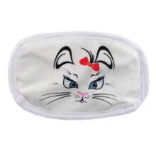 ماسک تنفسی بچگانه 2لايه قابل شستشو طرح گربه الينا Elina