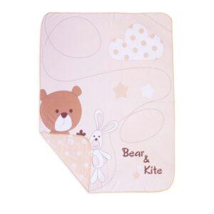 پتو نخی طرح Bear&Kite خرس خرگوش رزبرن RoseBorn