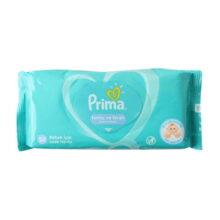 دستمال مرطوب ۵۲ عددی پریما Prima