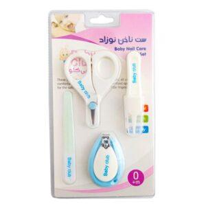 ست وکیوم بهداشتی قیچی ناخنگیر سوهان Baby Club