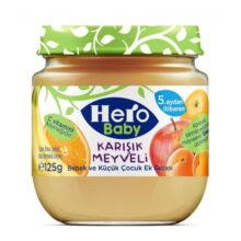 پوره کودک و نوزاد میوهای +5 ماه هیروبیبی Hero Baby