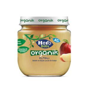 پوره ارگانیک با طعم سیب هیروبیبی Hero Baby