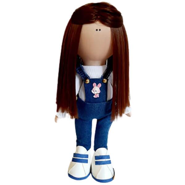 عروسک دخترانه روسی شلوارپيشبندی