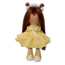 عروسک دخترانه روسی سارافون توردار پاپيونی دومينه Rezvan