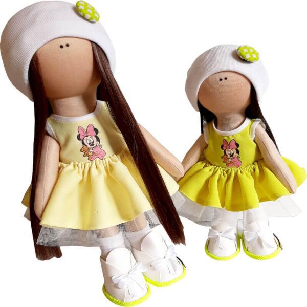 عروسک دخترانه روسی سارافون چاپ ميكی