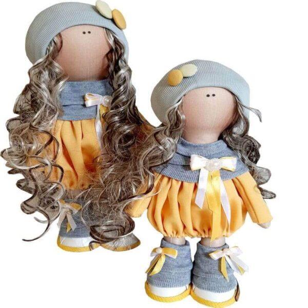 عروسک دخترانه روسی تونيك شالدار