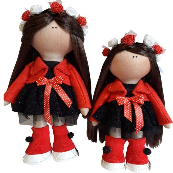 عروسک دخترانه روسی كت سارافون توری