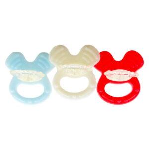دندان گیر پستانک سیلیکونی طرح میکی Baby Club