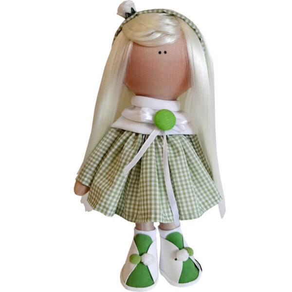 عروسک دخترانه روسی پيراهن 4خانه
