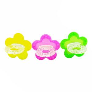 دندان گیر پستانک سیلیکونی طرح ستاره Baby Club