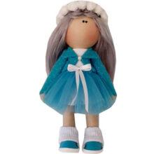 عروسک دخترانه روسی کت سارافون توری  Rezvan