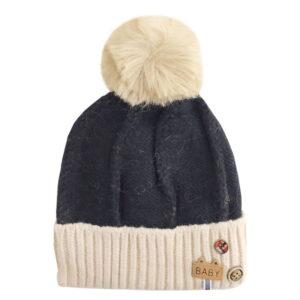 کلاه بچگانه ریزبافت کرکی زمستانی