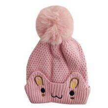 کلاه بچگانه کرکی زمستانی طرح خرگوش