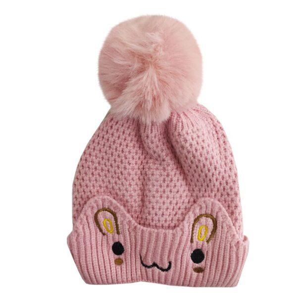 کلاه بچگانه زمستانی طرح خرگوش