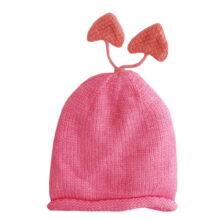 کلاه بچگانه ریز بافت آستردار قلبی