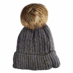 کلاه بافتنی بچگانه سایز بزرگ کرکی زمستانی