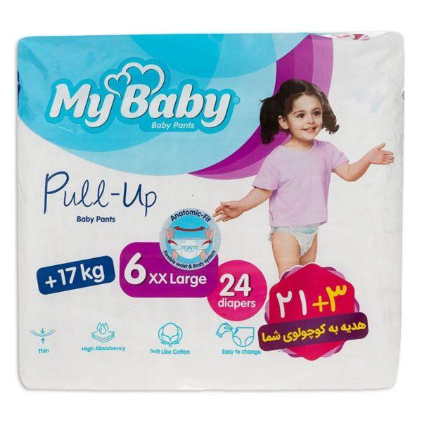 ملزومات بهداشتی کودک و نوزاد   پوشک شورتی