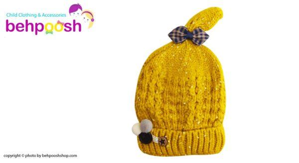 کلاه بافت بچگانه کش باف