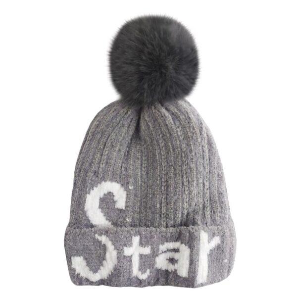 کلاه بافتنی بچگانه استار