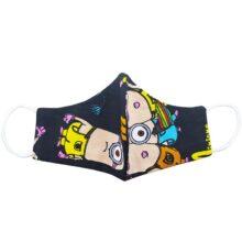 ماسک سه لایه برش چشمدار مینیون Abdy