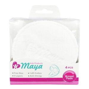 پد سینه قابل شستشو 4 عددی مایا Maya
