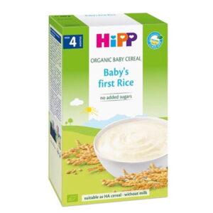 سرلاک ارگانیک 4+ ماه با طعم برنج هیپ Hipp