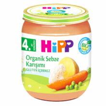 پوره ارگانیک 4+ ماه مخلوط سبزیجات هیپ Hipp