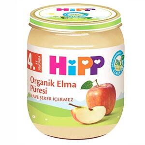 پوره ارگانیک 4+ ماه با طعم سیب هیپ Hipp