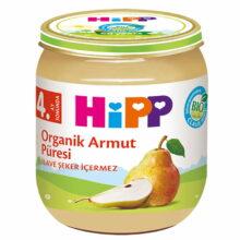 پوره ارگانیک 4+ ماه با طعم گلابی هیپ Hipp