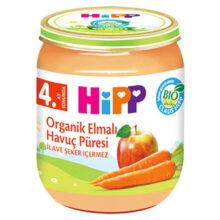پوره ارگانیک با طعم سیب و هویج هیپ Hipp