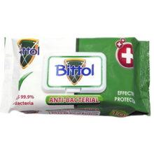 دستمال مرطوب آنتی باکتریال 100 برگی Bittol